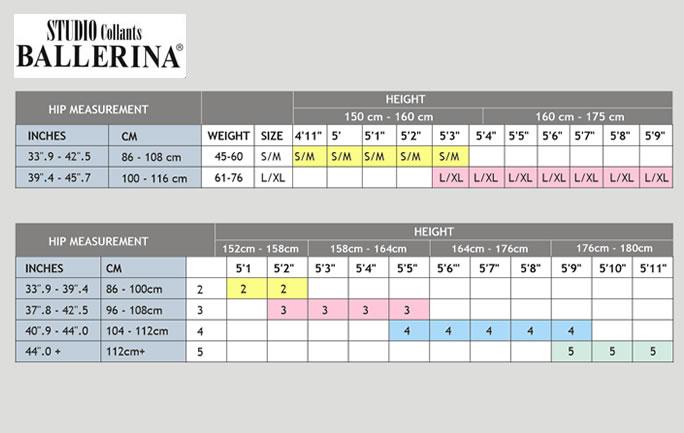 sizes_ballerina